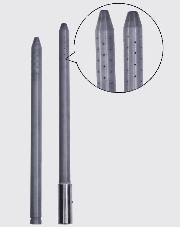 Graphite Fluxing (Degassing) Tubes